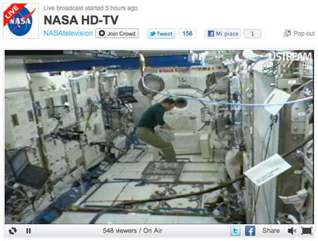 Nasa HD-TV